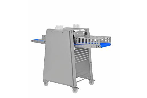 Cortex CB 435/4E COMPACT SLICER with optional output conveyor