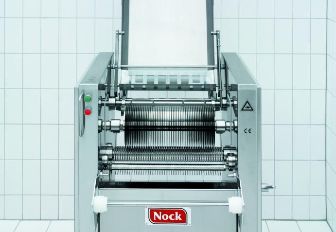 NOCK circular blade cutting machine after removing the conveyor belts